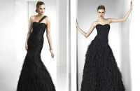 BLACK = SOPHISTICATED bridesmaids dresses