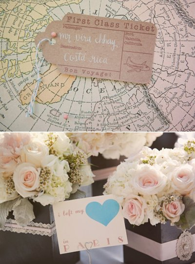 Swoon-Worthy California Wedding with a Vintage Travel ...