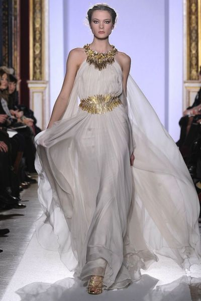 Bridal Style Inspiration: Gilded Magic by Zuhair Murad ...