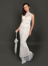 The Crocheted Wedding Dress | OneWed