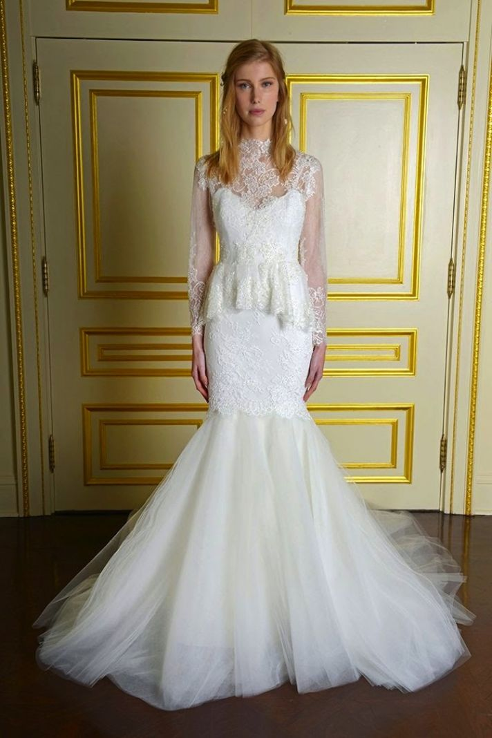 Winter Whites Gorgeous White Wedding Dresses For Winter Brides
