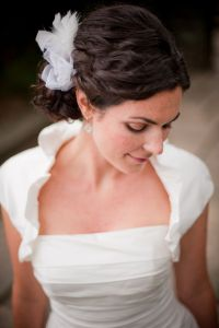 Wedding Hairstyles How To- Naturally Curly Updo for Thick ...