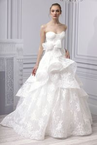 15 Favorites by Monique Lhuillier, Spring 2013 | OneWed