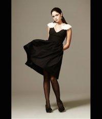 Black Bridesmaids' Dresses Ooze Sophisticated Elegance ...