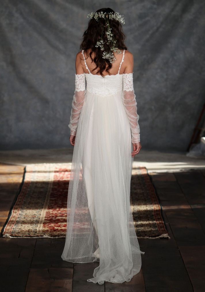 Lilith Wedding Dress Back from Claire Pettibone s Romantique Collection