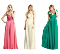 Pink And Green Bridesmaid Dress | lime green and hot pink ...