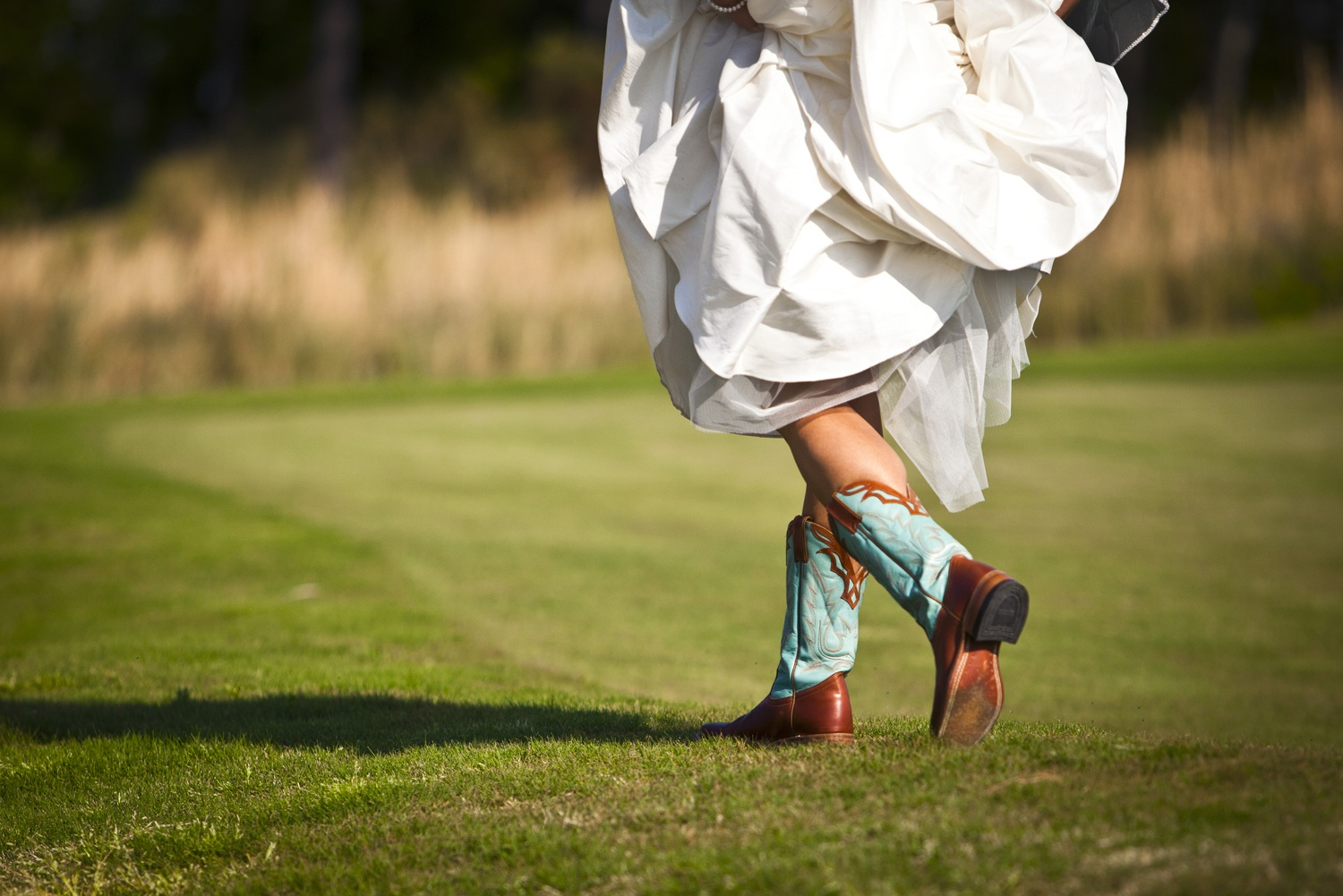 something blue cowboy boots wedding cowboy boots Something Blue Cowboy Boots