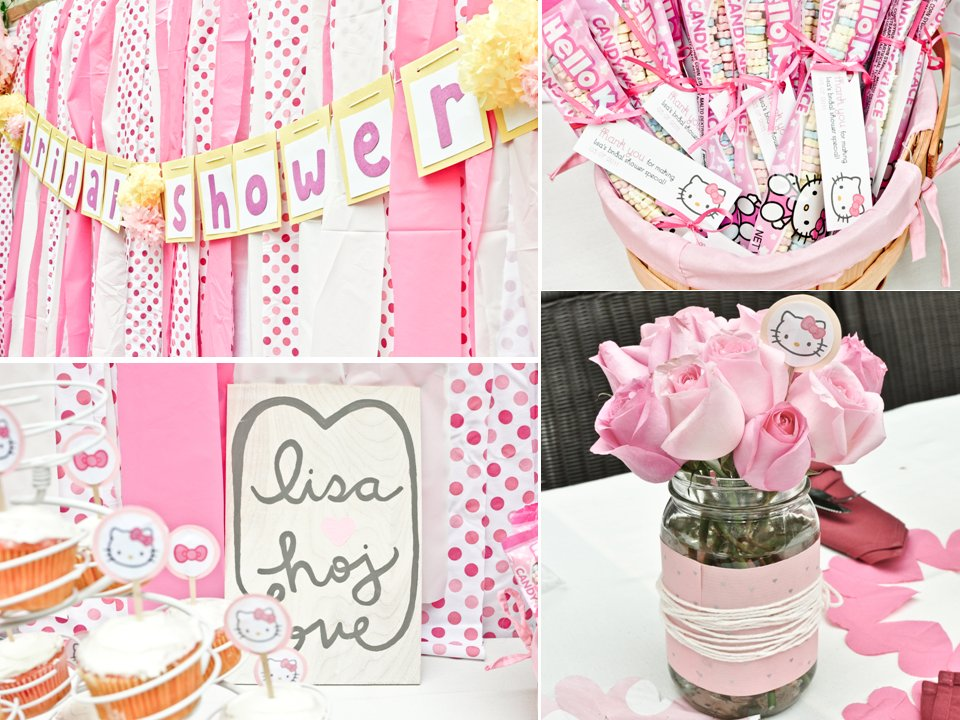 Hello Kitty Themed California Bridal Shower With Girly