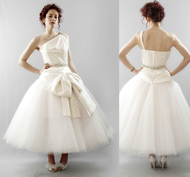 50 s style wedding dresses tea length 50s style wedding dresses 50s Inspired Bridesmaid Dresses
