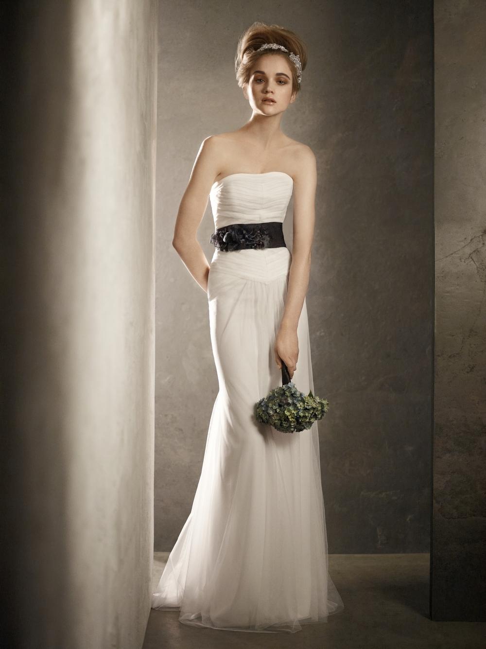 blue and white gothic wedding dresses black white wedding dress Black Wedding Dress And Fashion Gossip