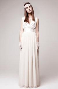 simple wedding dress for vintage or modern brides 3 ...