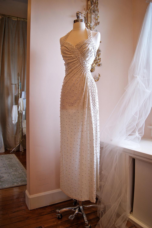 fave etsy finds vintage wedding dresses etsy wedding dresses s silk lace wedding dress jacket 30s champagne sheer bias cut floor length dress