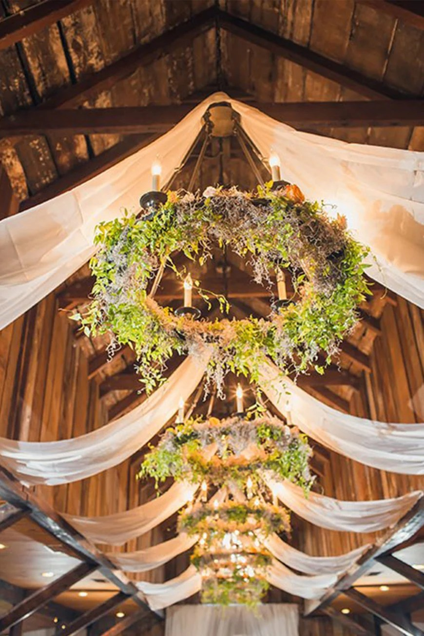 Copper Chandelier 19 Times Flower Hoops Stole The Show | Chwv