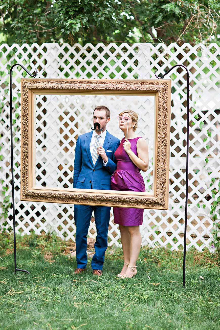 Large Frame For Photo Booth Diy Photo Booths To Suit Any Wedding Chwv