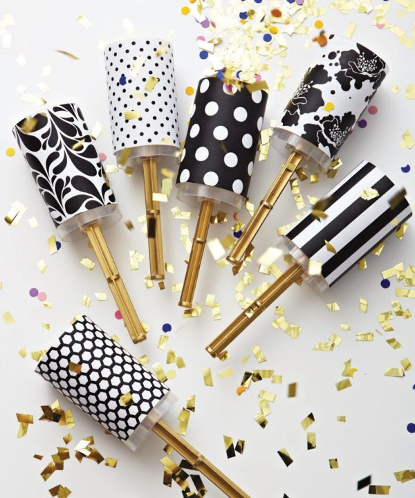 DIY Wedding Confetti Poppers + Free Downloadable Template - party proposal