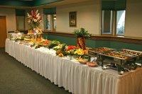 Wedding Buffet Ideas: How to set up wedding buffet table