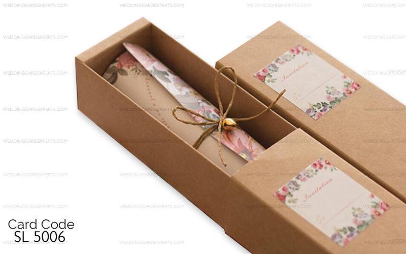 Scroll Wedding Cards Wedding Lahore Scroll Wedding Invitation