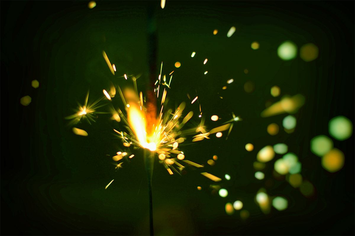 10 Inch Color Sparklers Perfect For Weddings Red Blue