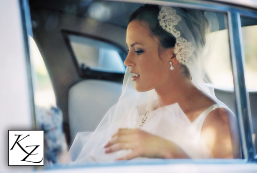 Beautiful Bride in Quiet Moment