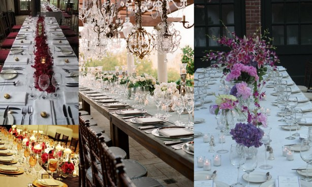 Feasting Tables for Your Wedding