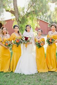 Yellow Bridesmaid Dresses | Midway Media