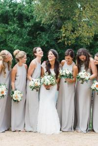 9 Sophisticated Grey Bridesmaid Dresses | Wedding Dresses ...