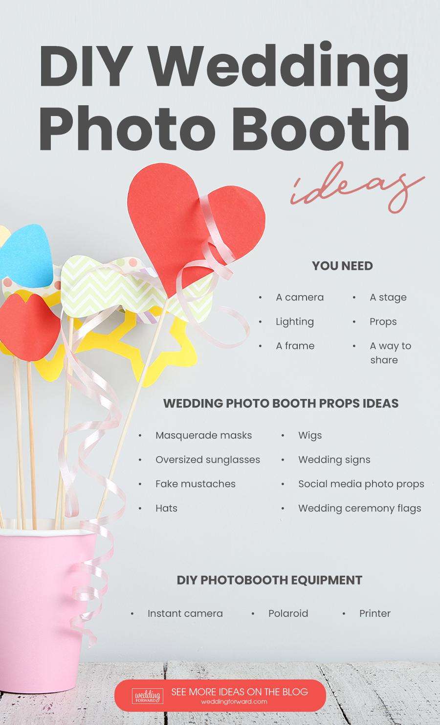 Diy Photo Booth Best Tips For Creating Yours Wedding Forward
