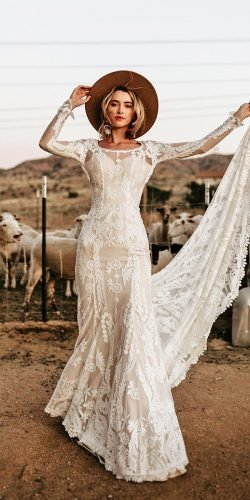 Hippie Boho Style 21 Hottest Wedding Dresses 2020 That Are Wow | Wedding Forward