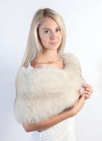 Fur wedding stoles