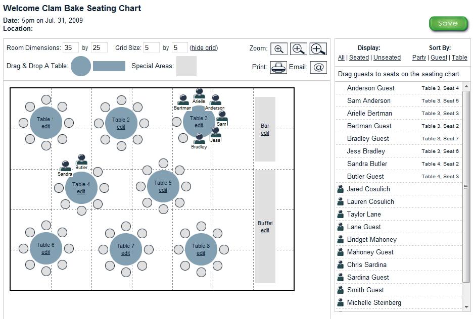 seating chart generator wedding - Jolivibramusic - guest seating chart template