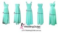 Tiffany Blue Bridesmaid Dresses - WeddingOutlet.com.au