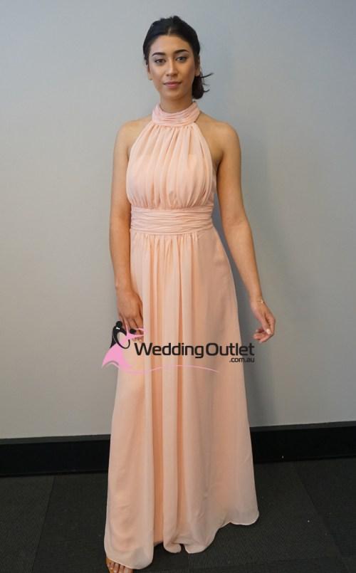 Medium Of Peach Bridesmaid Dresses
