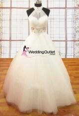 Ariana Halter Neck Princess Dress