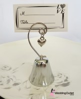 Bell and Name Card Holder wedding favours