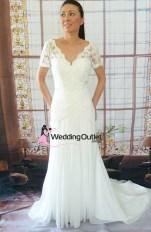 Avery Lace Bodice wedding dress