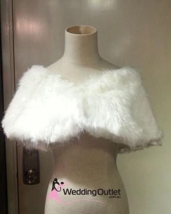 Fur Coat For Bridesmaids or Brides
