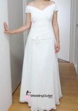 Irene Simple Wedding Gown