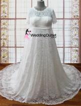 Genieve maternity plus size wedding dresses
