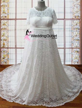 Genieve maternity plus size wedding dresses