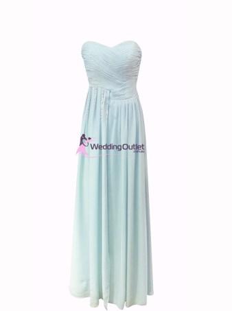 Misty Blue Bridesmaid Dress Style #Z101