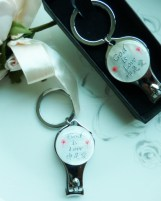 Personalisation Nail Clippers Wedding Favours God is Love