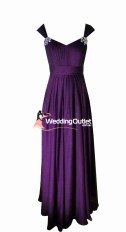 Acai Purple Bridesmaid Dresses Style #A1029
