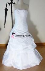 Victoria ruffle mermaid wedding dress