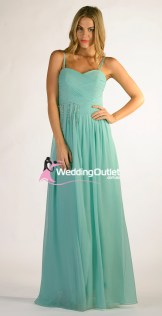 Mint Green Bridesmaid Dresses or Prom Style #Z101