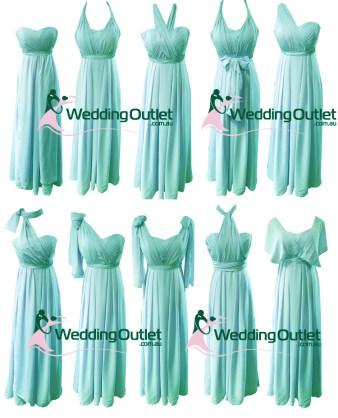 Aqua Convertible Wrap Dress Style #UU101