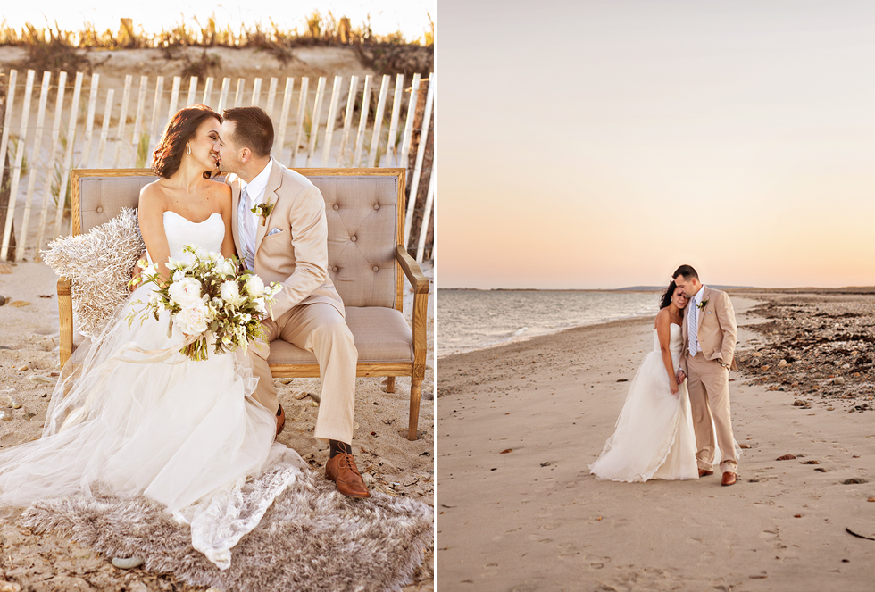 Boston, Massachusetts Wedding Photographer Oceanside Beach Wedding