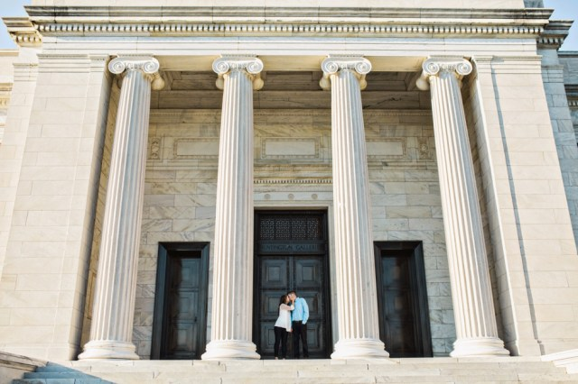 Cleveland Wedding Photographer Art Museum Cleveland Engagement