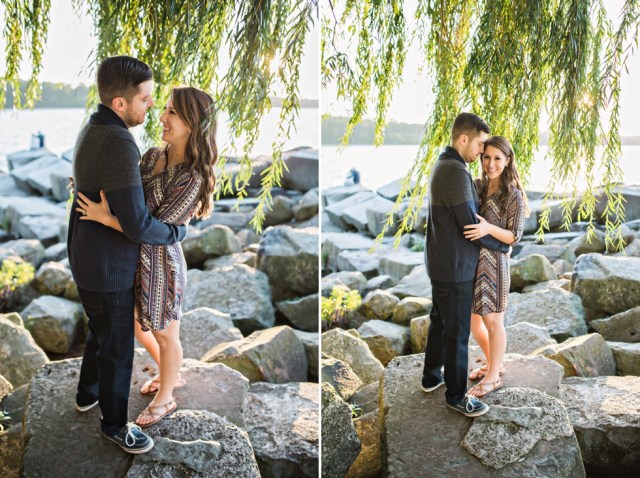 Ohio Wedding Photographer Cleveland Edgewater Park Cleveland Engagement