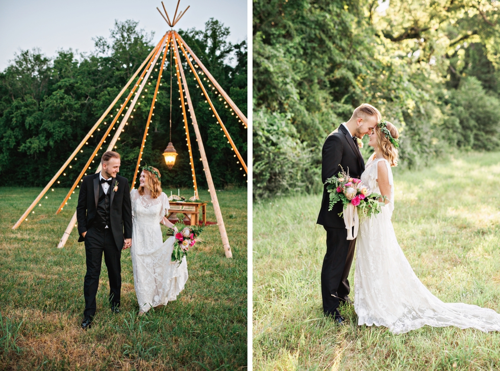 Fine Art Boho Wedding Photographer in Nashville and Destination Weddings