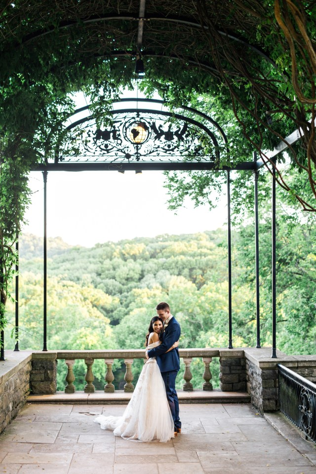 Cheekwood Botanical Gardens Wedding in Nashville